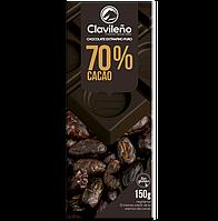 Черный шоколад Clavileno 70% cacao 150 гр