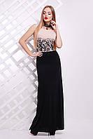 Женское длинное платье в пол Бомонта Glem 44-48 размеры