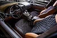 Накидки из алькантары на передние сидения VIP