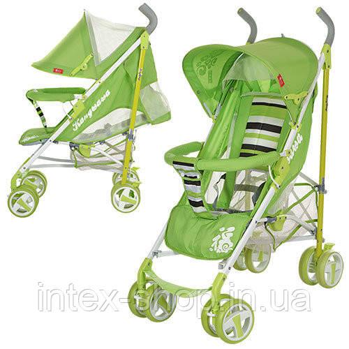 Детская коляска-трость (310-5) САЛАТОВАЯ