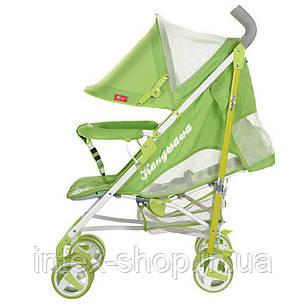 Детская коляска-трость (310-5) САЛАТОВАЯ, фото 2