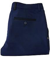Брюки мужские синие № 125  - Сатэн 180387-1, фото 1