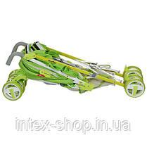 Детская коляска-трость (310-5) САЛАТОВАЯ, фото 3