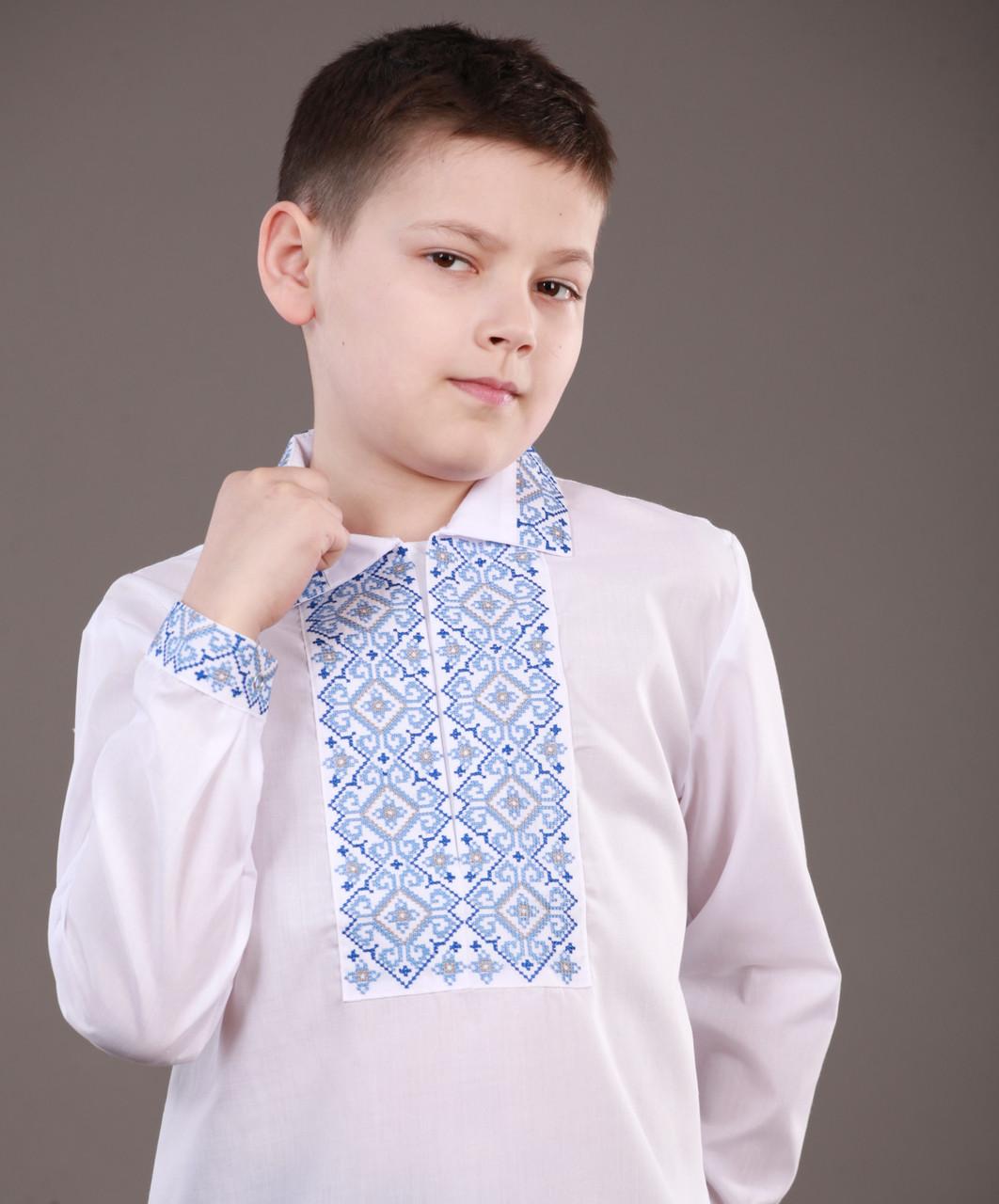 9f2dcdf3c024bf Красивая вышиванка для мальчика на кнопках