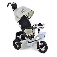 Велосипед 3-х колісний MiniTrike над. кап.(білий)