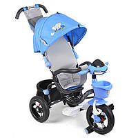 Велосипед 3-х колісний MiniTrike над. кап.(синій)
