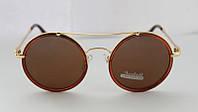 Круглые солнцезащитные очки для молодых женщин