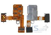 Шлейф для Sony ST27i Xperia Go с кнопкой включения и разъемом гарнитуры Original