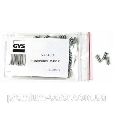 Винты алюминий-магний M4 - 100 шт GYS