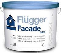 Краска для фасада акриловая Flugger Façade Beton, банка 1 л