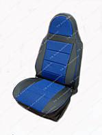 Чехлы на сидения универсальные - автоткань Pilot синий