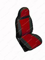 Чехлы на сидения универсальные - из автоткани Pilot Lux темно красный