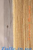 Занавески из нитей с люрексом