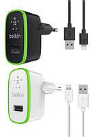 Сетевое зарядное устройство Belkin 2 в 1 для iPhone 5 5S 5C SE 6 6S / 6 6S Plus / 7 7 Plus