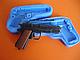 """Силиконовый молд 3Д """"Пистолет"""", фото 3"""