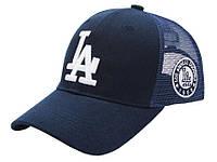 Оригинальные бейсболки кепки Los Angeles LA сетка. С регулировкой размера. Отличное качество. Код: КГ807