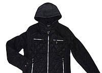 Стеганная куртка с трикотажным капюшоном для мальчика 8-14 лет, Nature RHB 4217 10