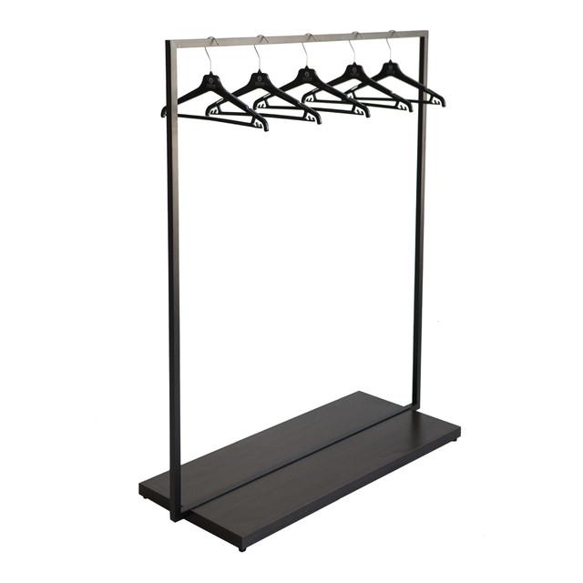 Металлические напольные стойки для магазина с одеждой