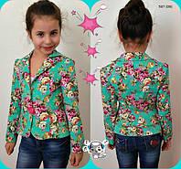Детский пиджак на девочку