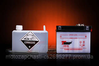 Аккумулятор 12V/4А сухозаряженный с кислотой TMMP