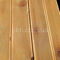 Террасная доска лиственница 22х90\120 Сорт С