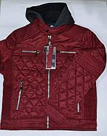 Стеганная куртка с трикотажным капюшоном для мальчика 8-14 лет, Nature RHB 4217 12