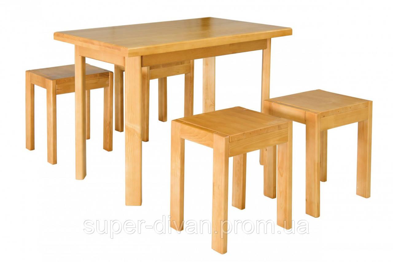 Стол и табуретки (2шт.) Олимп