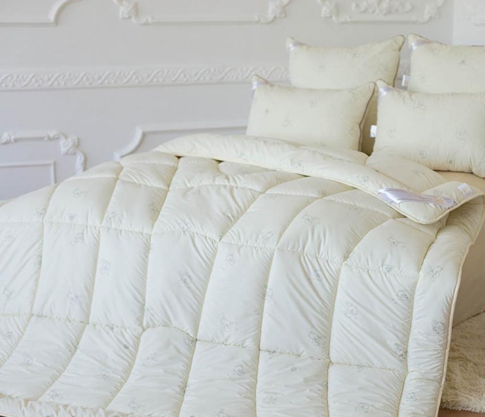 "Одеяло Wool Classic (Овечья шерсть), тм""Идея"" 175х210"