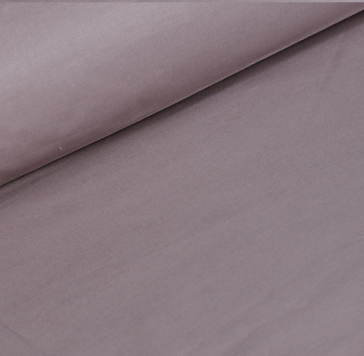 Бязь однотонная цвета капучино  шлифованная   № 539