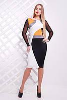 Трикотажное женское платье Лоя 3ФС Glem 44 размер