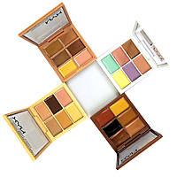Палитра корректоров (консилеров) NYX 6 цветов