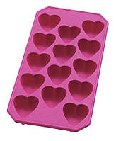 "Силиконовая форма ""Сердце"" для конфет 21,5х10,7х2,2см."