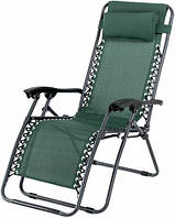 Садовый шезлонг, раскладное кресло лежак