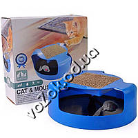 Игрушка для кошек Поймай мышку OxGord Cat Mouse Chase