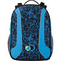 Рюкзак школьный каркасный (ранец) 703 Disсovery