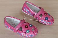 Мокасины туфли для девочки с цветочками тм Том.м р.27,31,32