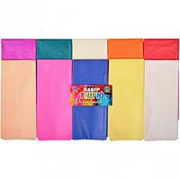 Цветная бумага тишью 10 цветов, 10 листов