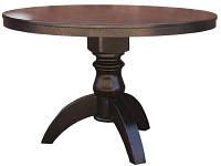 Стол деревянный ЛЕО + на одной ноге (круглый, квадратный) для дома, кафе и ресторана