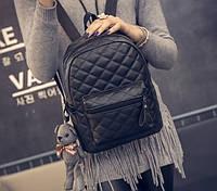 Рюкзак женский Quilted стеганный кожзам , фото 1