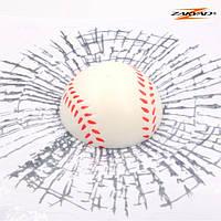 3D Наклейка  - Бейсбольный мяч