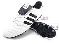 Бутсы футбольные (копы) Adidas Gloro\Адидас Глоро, Вьетнам, белые, к11359