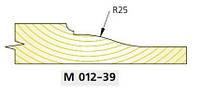 Фреза для изготовления  филёнки  М-200-39