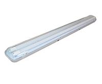 Светильник 1200мм IP65 + 2 LED лампы 2х18Вт