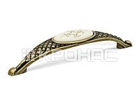 "Ручка скоба Virno Azure 100/128 MLC A18 бронза ""КР"""