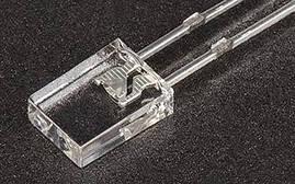 Светодиод прямоугольный 2х5х7 белый
