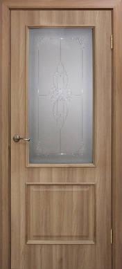 Дверное полотно ПВХ Версаль с контурным рисунком