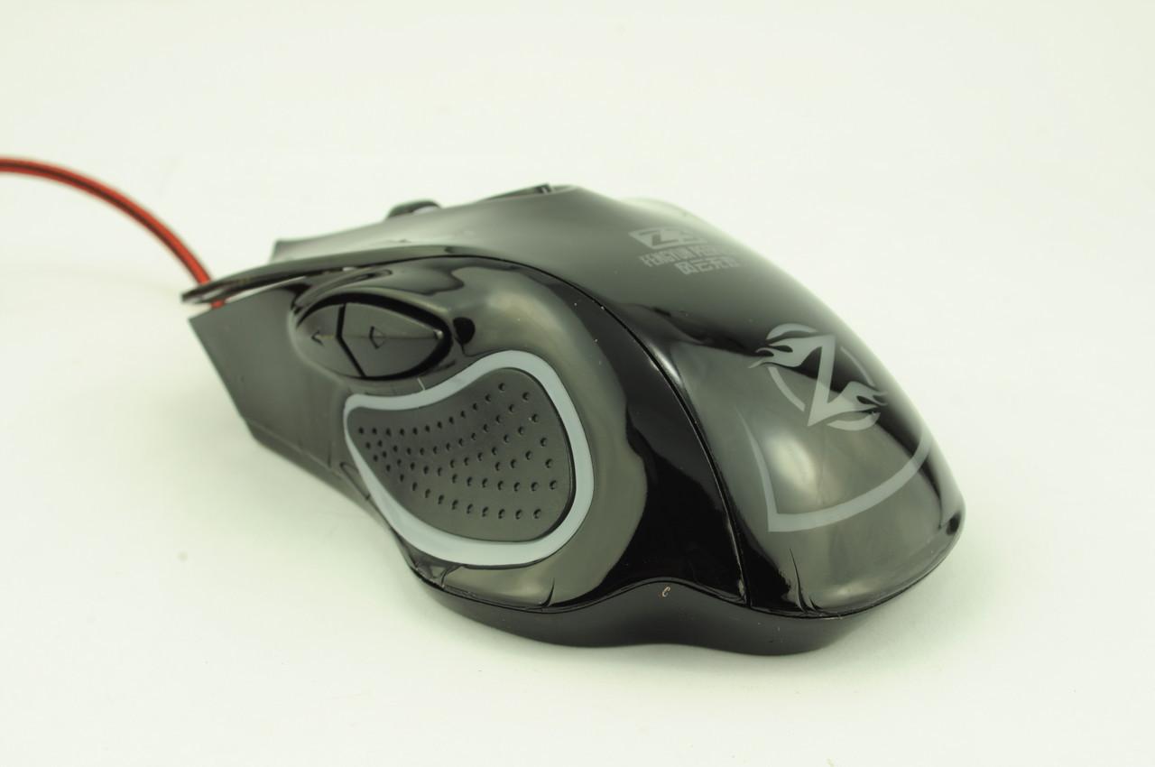 Мышка компьютерная проводная игровая Z3 черная