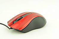 Мышка компьютерная проводная Z026 красная, фото 1