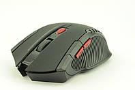 Мышка компьютерная беспроводная + радио 529 W4 черная, фото 1