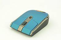 Мышь компьютерная беспроводная MA-MTW09 USB + радио голубая, фото 1